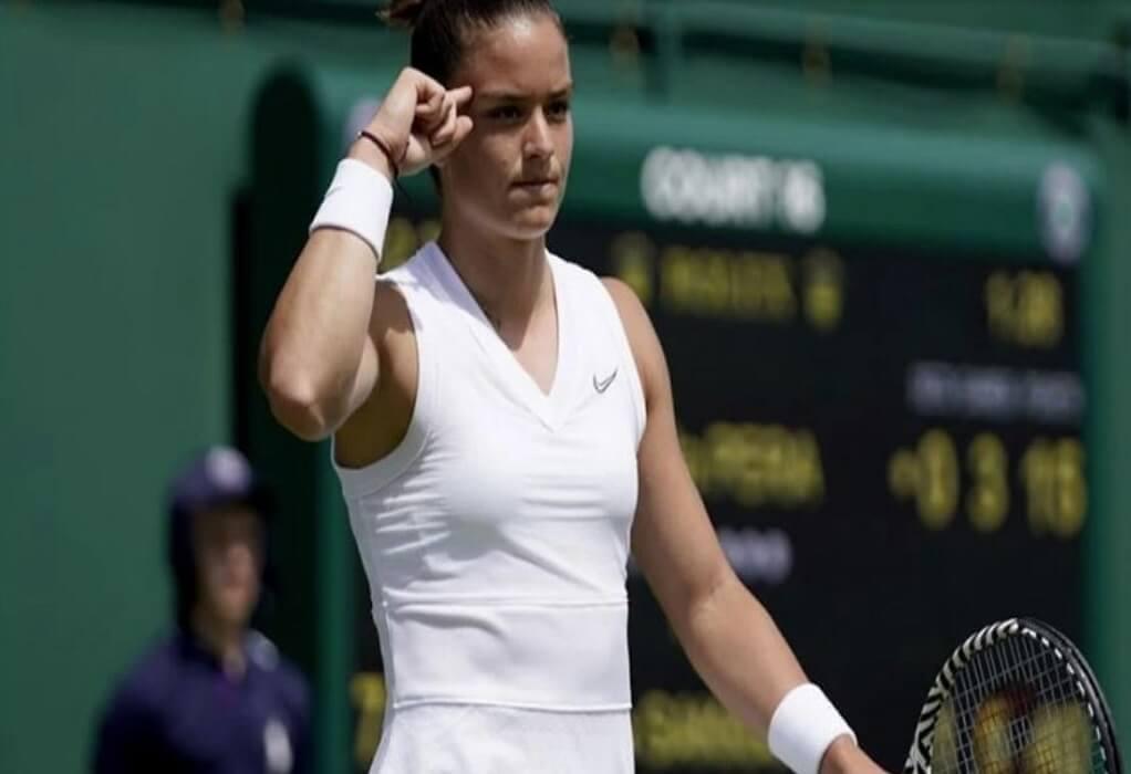 Wimbledon: Διεκόπη ο αγώνας της Σάκκαρη