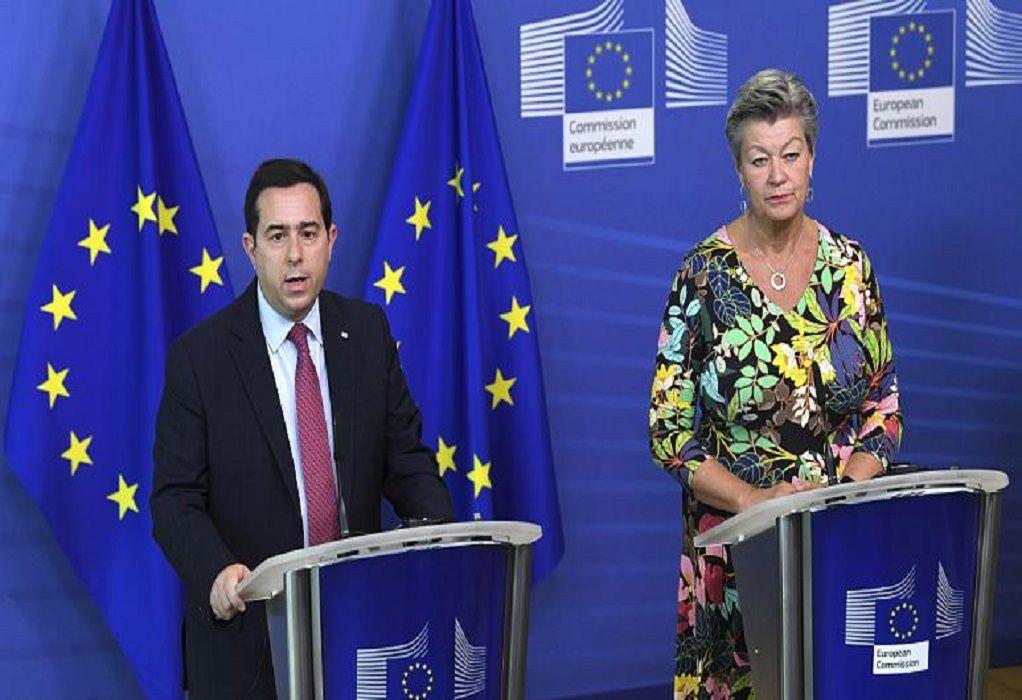 Μηταράκης: H Ελλάδα μπόρεσε να μετριάσει τον αντίκτυπο της μεταναστευτικής κρίσης