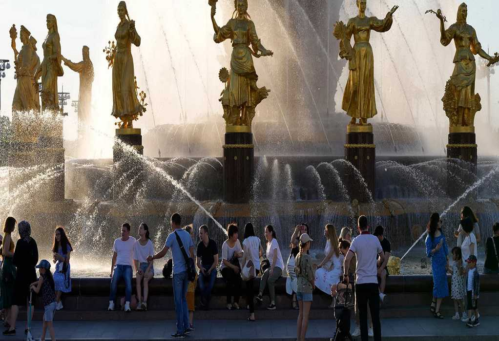 Ρωσία: Ρεκόρ υψηλής θερμοκρασίας στη Μόσχα μετά από 142 χρόνια (VIDEO)