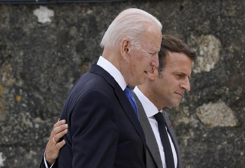Γαλλία-ΗΠΑ: Συνάντηση Μακρόν με τον Μπάιντεν στη G20