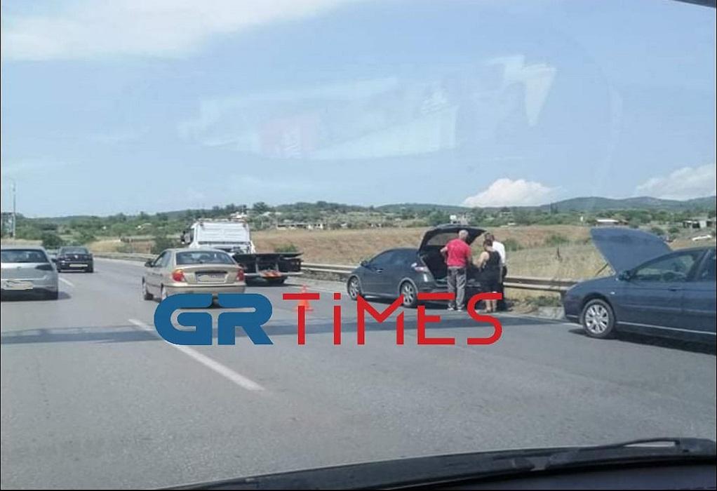 Τώρα: Μποτιλιάρισμα στην Περιφερειακή Οδό προς δυτικά (ΦΩΤΟ-VIDEO)