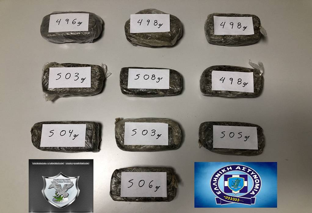 Θεσσαλονίκη: Συνελήφθη με πάνω από 5 κιλά ηρωίνης (ΦΩΤΟ)