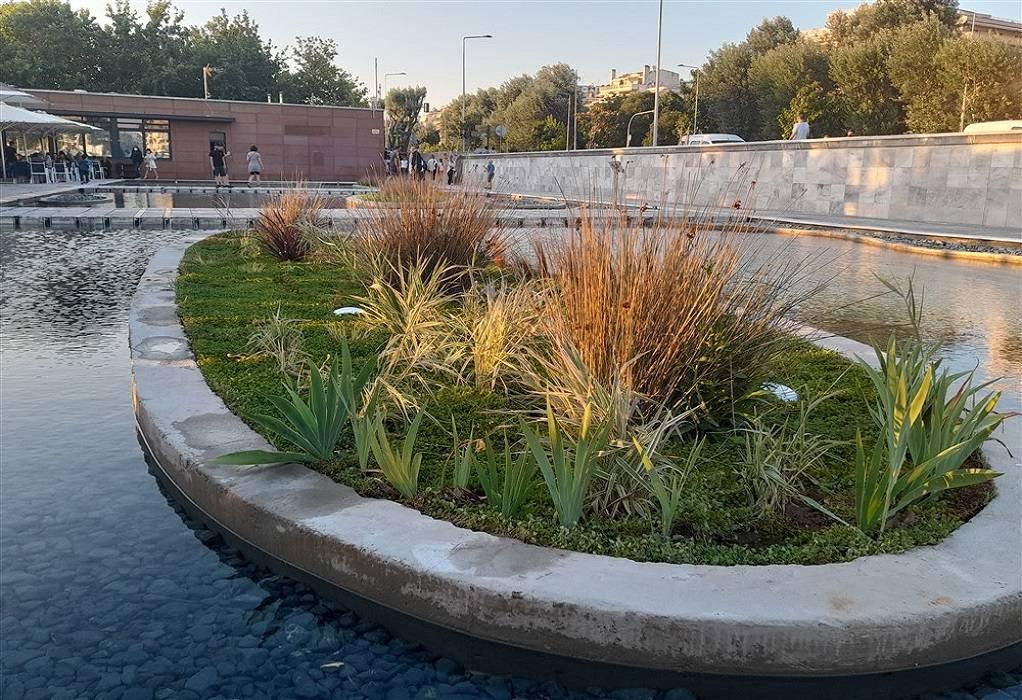 Θεσσαλονίκη: Εντυπωσιακός ο ανακαινισμένος Κήπος του Νερού, φωτογραφία-1