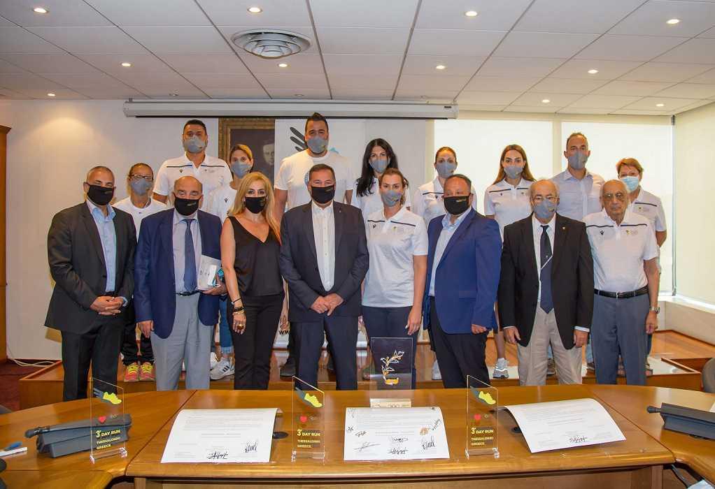 Σύμφωνο συνεργασίας μεταξύ του Ολυμπιακού Μουσείου και της Ένωσης Συμμετασχόντων σε Ολυμπιακούς Αγώνες