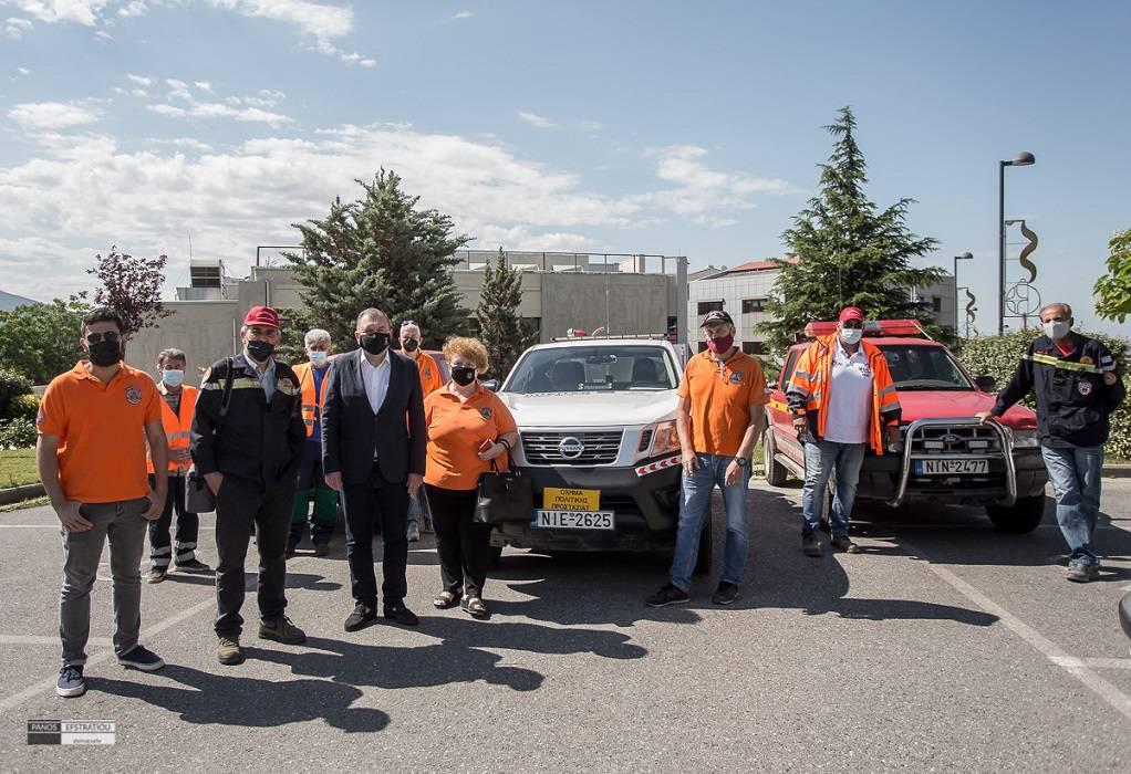 Πυλαία-Χορτιάτης: Drones για δασοπροστασία στους εθελοντές του δήμου