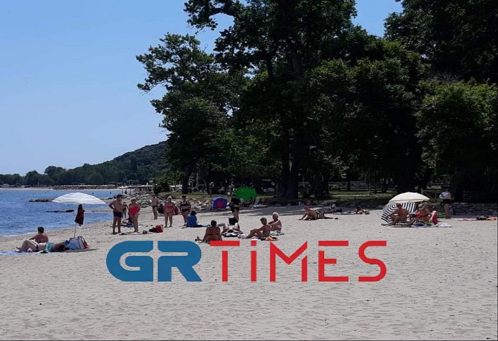 Θεσ/νίκη: Άρχισαν να γεμίζουν σιγά – σιγά οι παραλίες (ΦΩΤΟ-VIDEO)