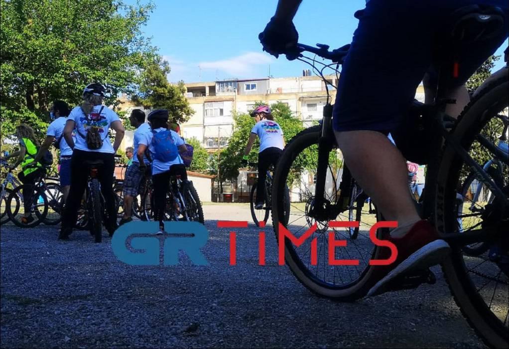 Ποδηλατοβόλτα για καλύτερο περιβάλλον από 3 δήμους της Δ. Θεσ/νίκης (ΦΩΤΟ-VIDEO)