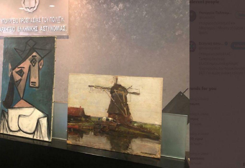 Εθνική Πινακοθήκη: Πού είχε κρύψει ο 49χρονος τους κλεμμένους πίνακες (VIDEO)
