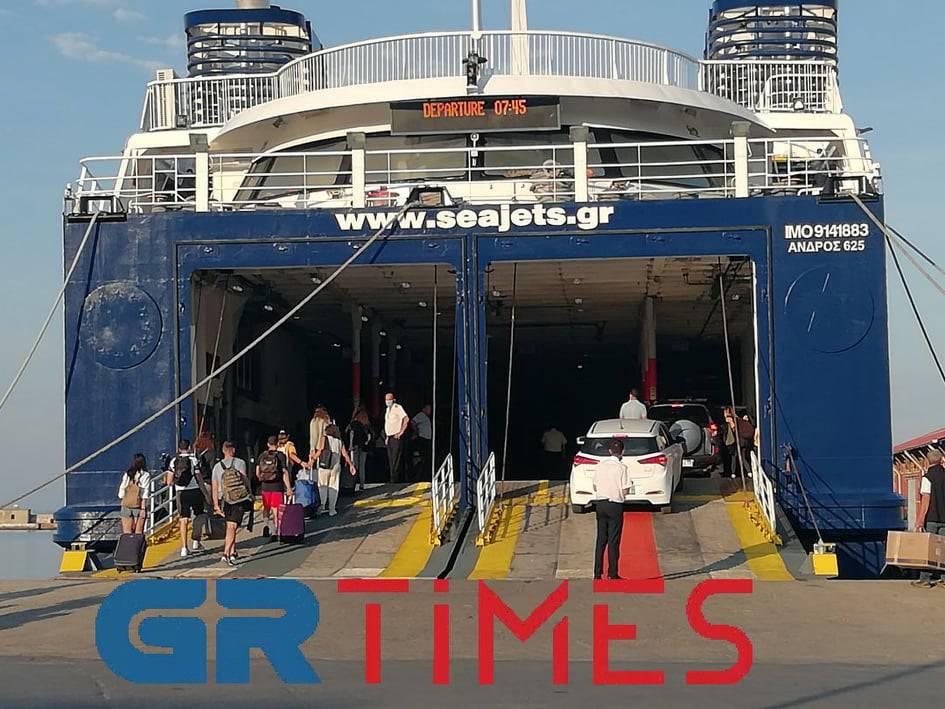 Θεσσαλονίκη: Στο 50% οι πληρότητες για Σποράδες – Δρομολόγια και τιμές