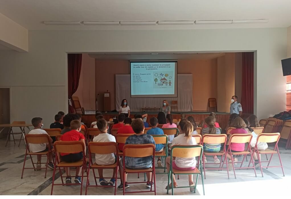 Πρέβεζα: Ενημερωτική δράση της 1ης Τοπικής Ομάδας Υγείας σε σχολεία