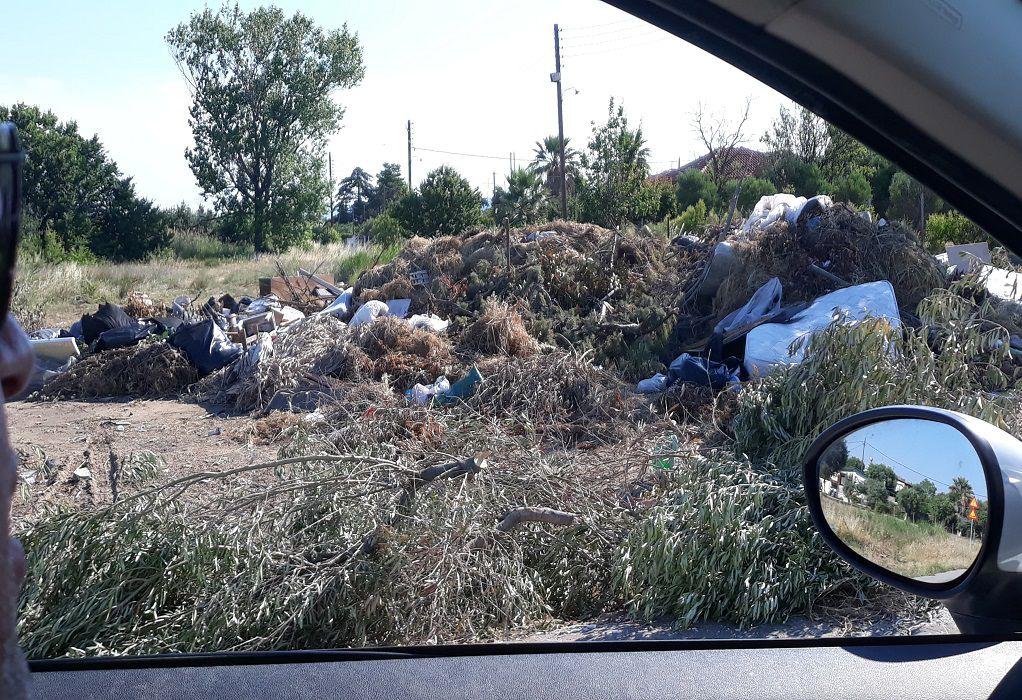 Δήμος Ν. Προποντίδας: Απαγορεύεται η άναρχη εναπόθεση ογκωδών απορριμμάτων (ΦΩΤΟ)