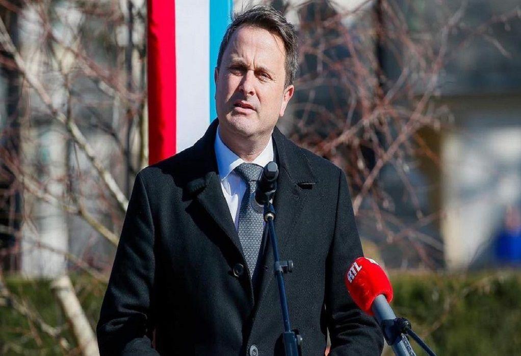 Θετικός στον κορωνοϊό πρωθυπουργός του Λουξεμβούργου, Ξαβιέ Μπετέλ