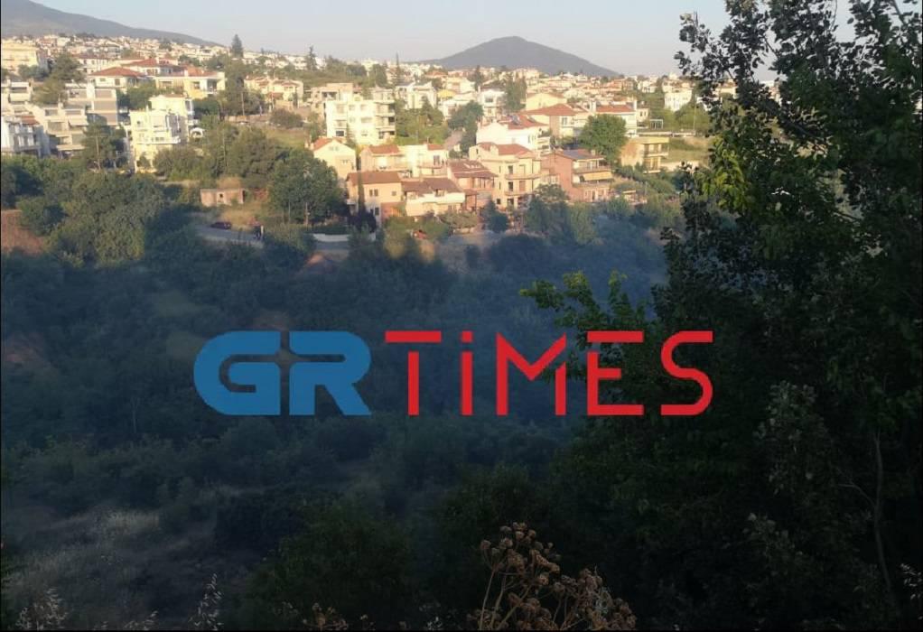 ΤΩΡΑ: Πυρκαγιά στο Πανόραμα Θεσσαλονίκης (ΦΩΤΟ-VIDEO)