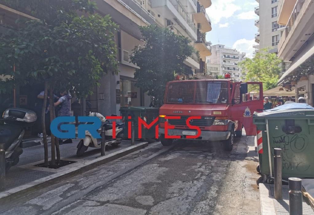 Θεσσαλονίκη: Κινητοποίηση της πυροσβεστικής για φωτιά σε κατσαρόλα (ΦΩΤΟ)