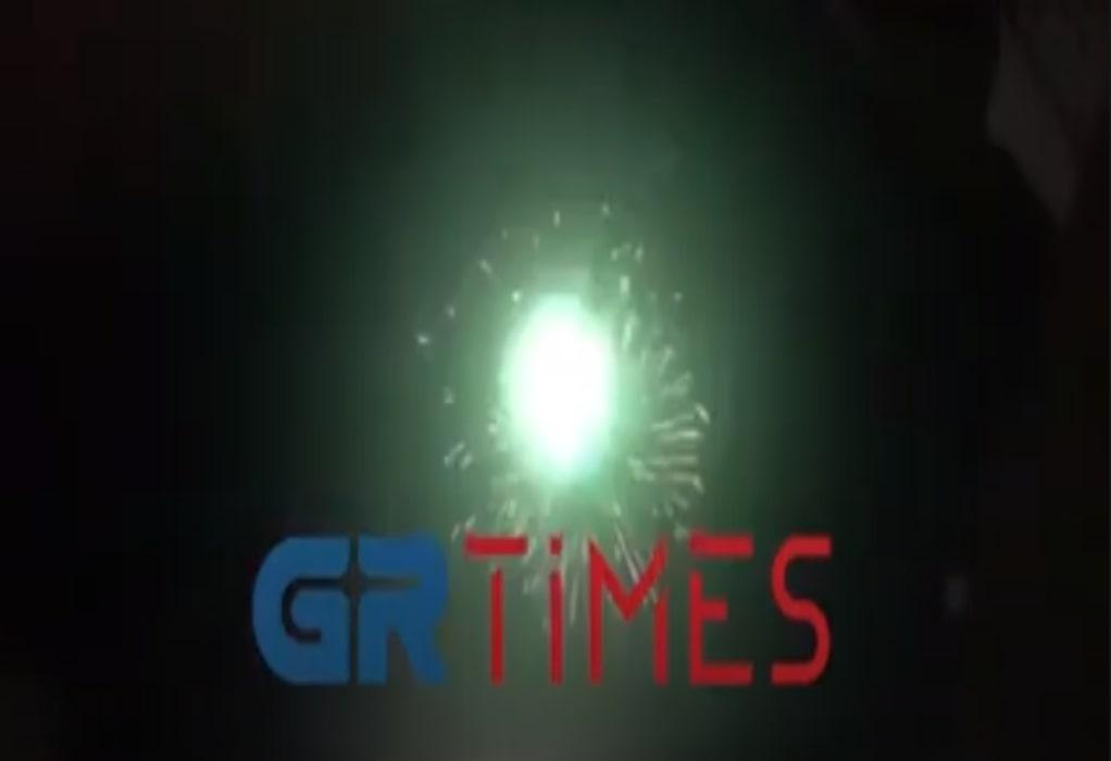 Θεσσαλονίκη: Υπερθέαμα πυροτεχνημάτων (VIDEO)