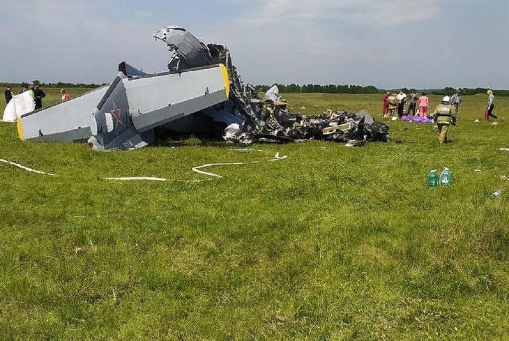 Ρωσία: Συντριβή αεροσκάφους – Τουλάχιστον 4 νεκροί (VIDEO)