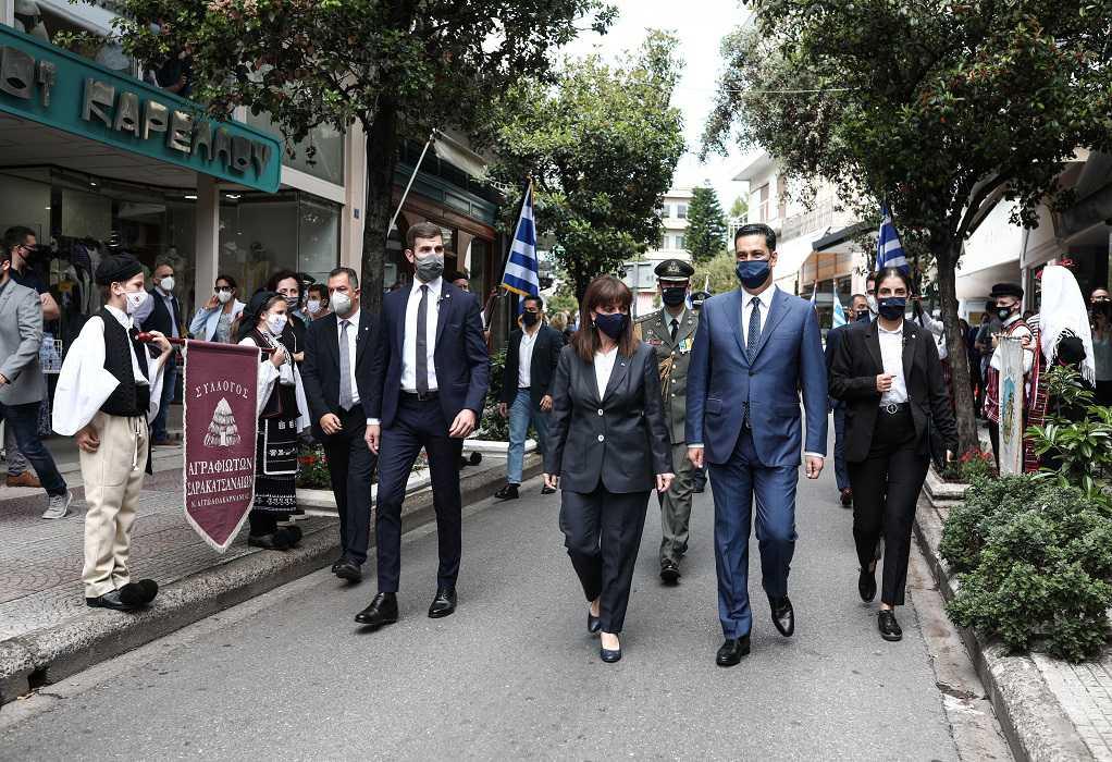 Στις επετειακές εκδηλώσεις για την απελευθέρωση του Αγρινίου η ΠτΔ