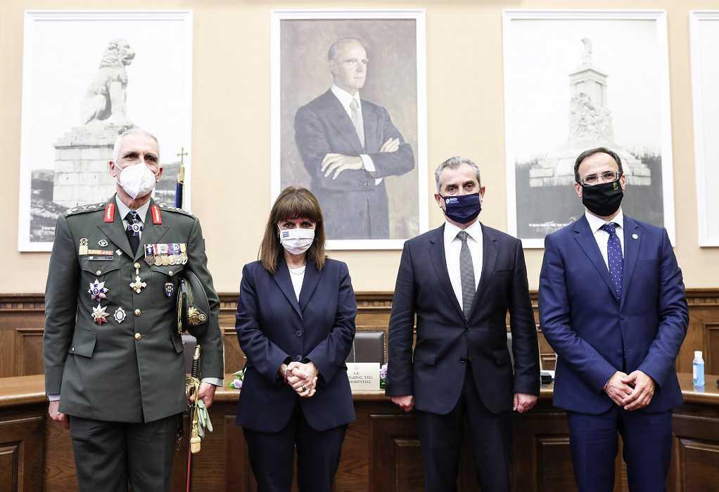 Συνάντηση Κ. Σακελλαροπούλου με τον αντιπεριφερειάρχη Σερρών