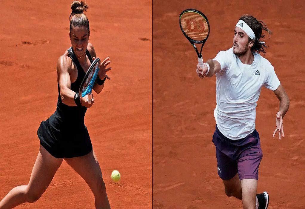 Roland Garros: Πότε παίζουν στους ημιτελικούς Τσιτσιπάς και Σάκκαρη