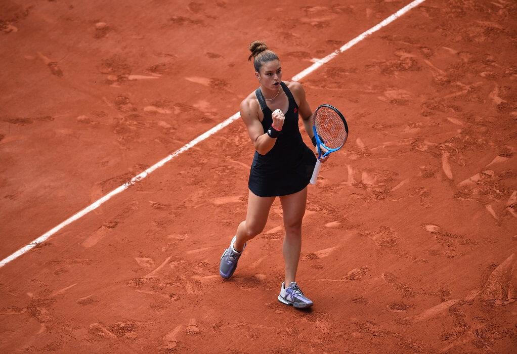 Μαρία Σάκκαρη: Ιστορική πρόκριση στους 4 του Roland Garros
