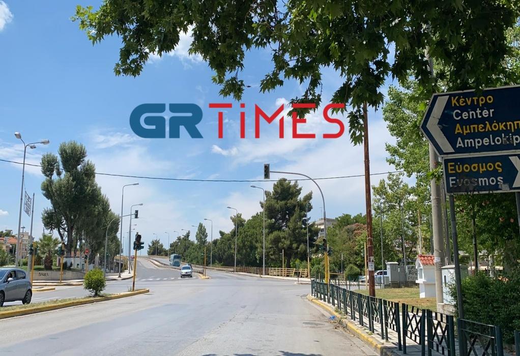 Δυτική Θεσσαλονίκη: Χωρίς φανάρια για δεύτερη μέρα κεντρικός δρόμος (VIDEO-ΦΩΤΟ)