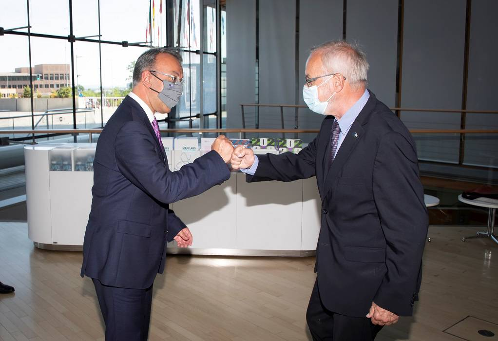 Επίσκεψη Σταϊκούρα στην ΕΤΕπ στο Λουξεμβούργο
