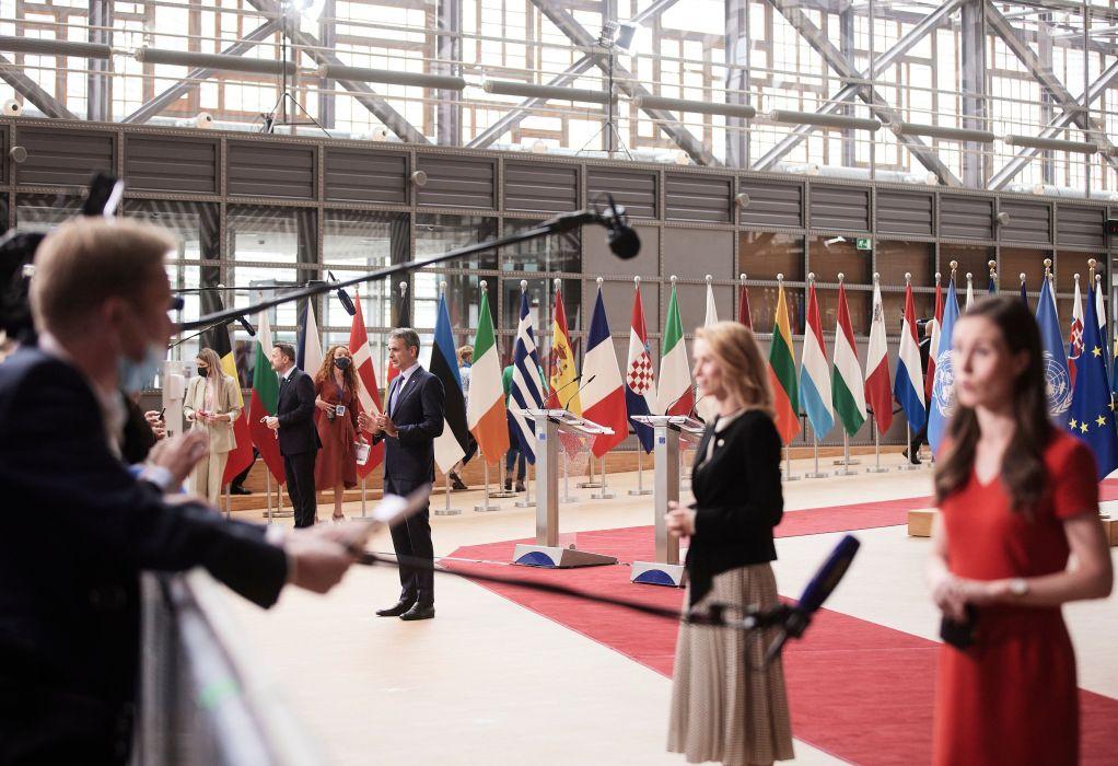 Βρυξέλλες-Σύνοδος Κορυφής: Ανησυχία για τη μετάλλαξη Δέλτα