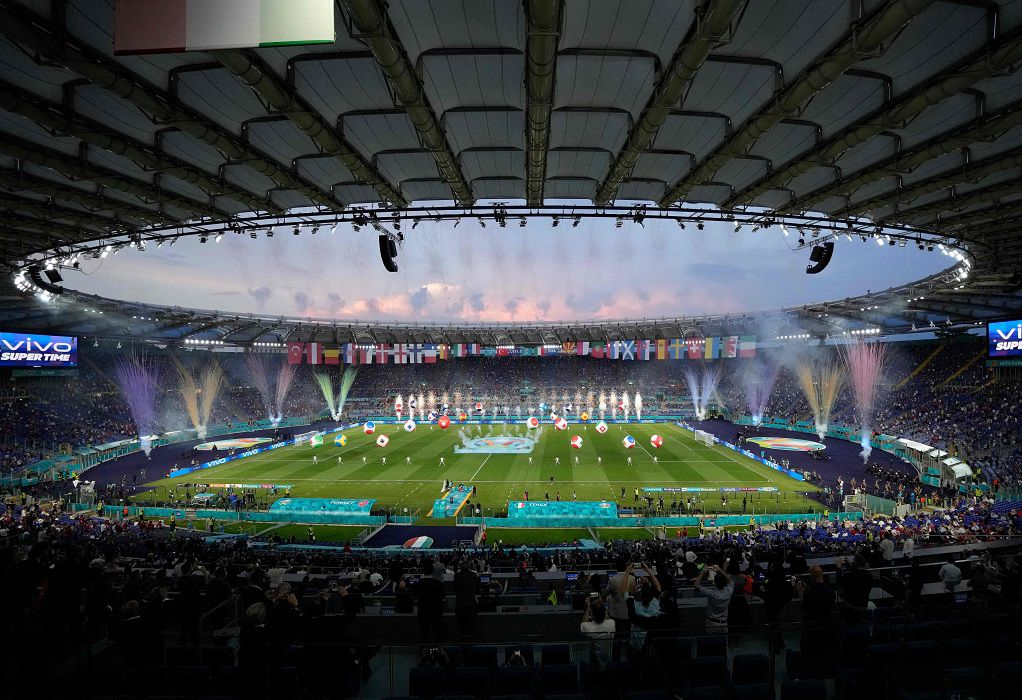 EURO 2020: Εντυπωσιακή η τελετή έναρξης στη Ρώμη (ΦΩΤΟ-VIDEO)