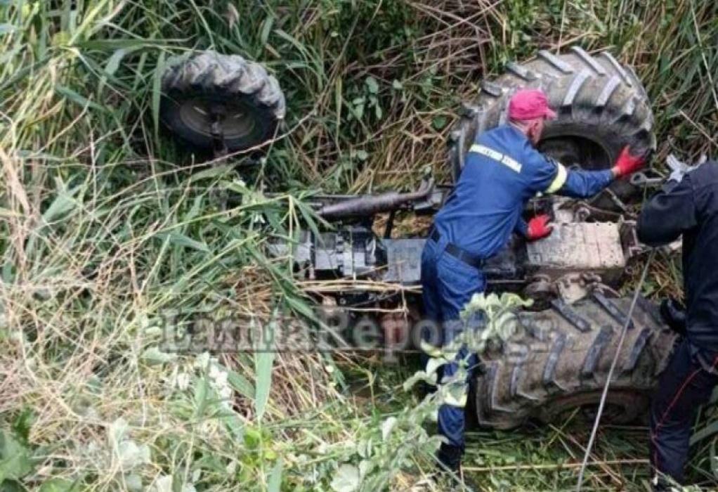 Φθιώτιδα: Νεαρός αγρότης καταπλακώθηκε από το τρακτέρ του – Σώθηκε από θαύμα