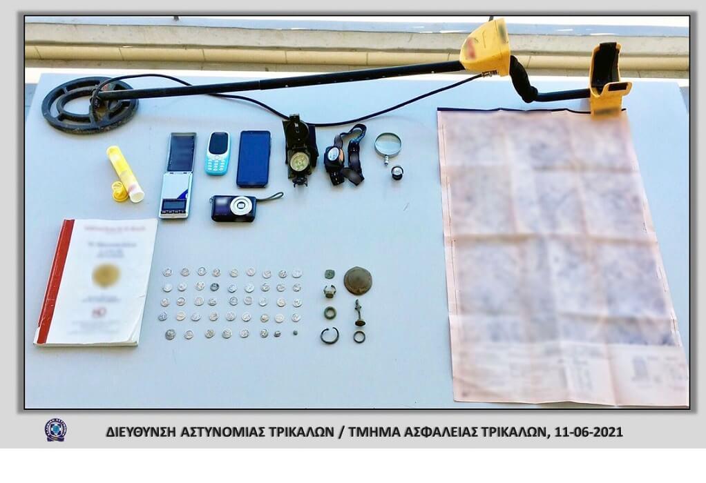 Τρίκαλα: Στα χέρια της αστυνομίας επίδοξος αρχαιοκάπηλος