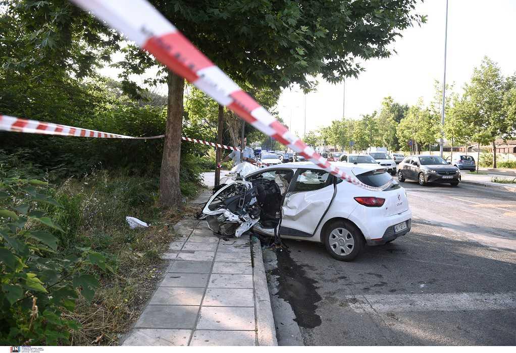 Θεσσαλονίκη: Η ανακοίνωση της ΕΛΑΣ για το θανατηφόρο τροχαίο στη Δυτική είσοδο
