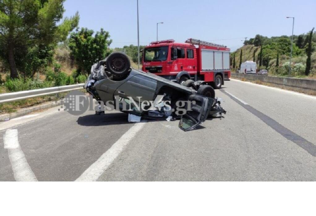 Τροχαίο Κρήτη: Αυτοκίνητο εκτινάχθηκε σε ακτίνα 500 μέτρων
