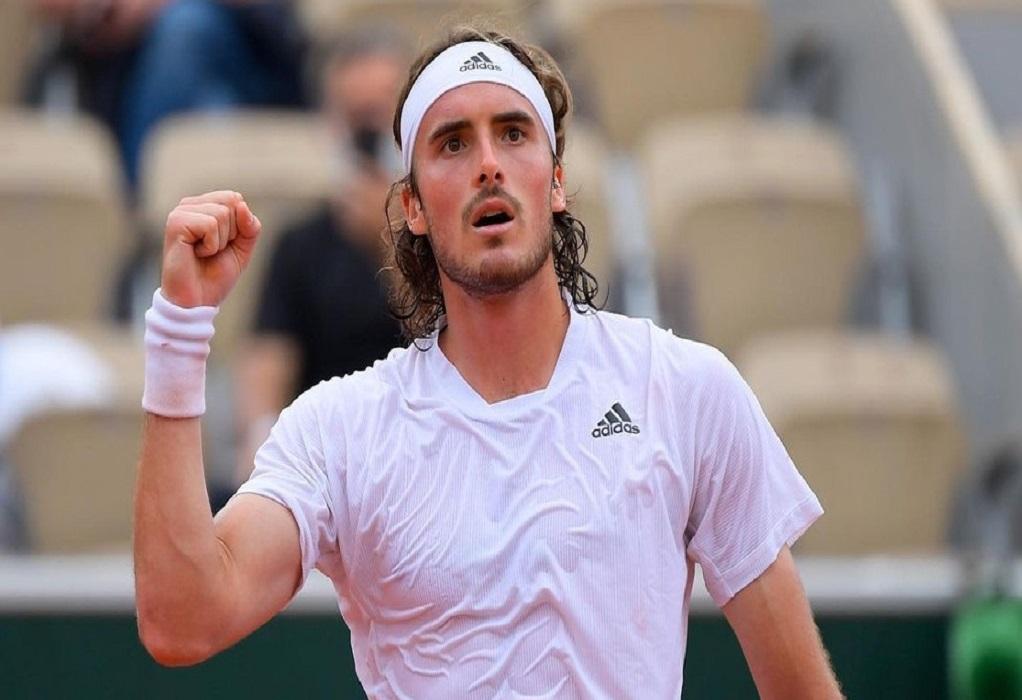 Τέννις-Open Βιέννης: Απέκλεισε τον Ντιμιτρόφ ο Τσιτσιπάς στην πρεμιέρα