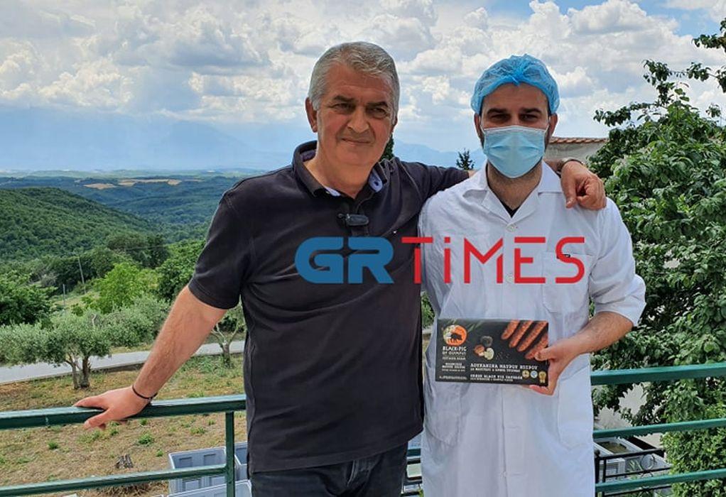 Φάρμα Φωτιάδη: Ο ελληνικός μαύρος χοίρος στο Βουνό των Θεών