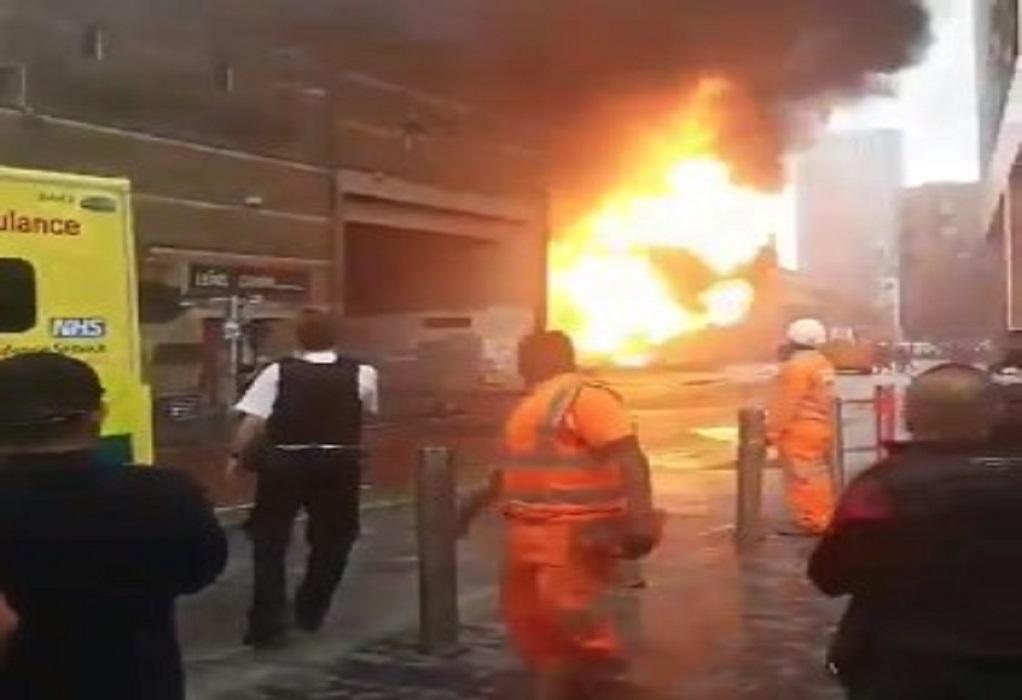 Λονδίνο: Μεγάλη φωτιά σε σταθμό του Μετρό (VIDEO)