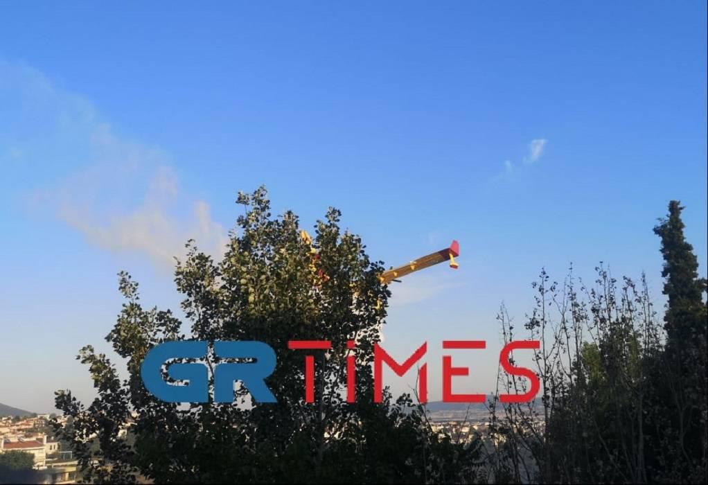 Θεσσαλονίκη: Υπό έλεγχο η φωτιά στο Πανόραμα (VIDEO)