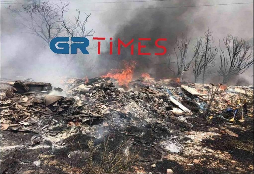 Θεσσαλονίκη: Φωτιά ξέσπασε στον Φοίνικα (VIDEO-ΦΩΤΟ)