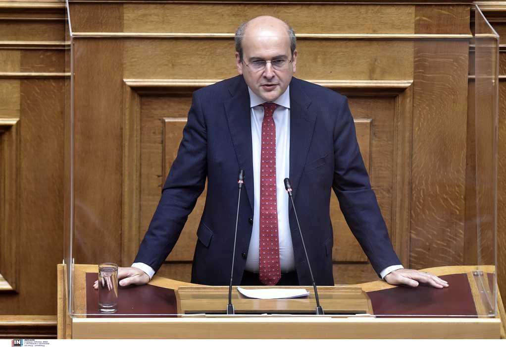 Κ. Χατζηδάκης: Εσείς είστε με τους εργατοπατέρες, εμείς με την κοινωνία