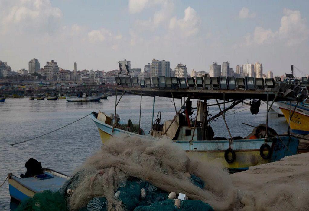 Ισραήλ: Χαλαρώνει περιορισμούς σε εμπόριο-αλιεία στη Λωρίδα της Γάζας