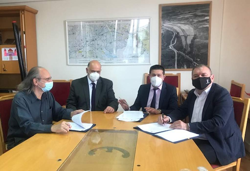Μνημόνιο συνεργασίας μεταξύ ΕΥΑΘ ΑΕ και Δήμου Πυλαίας -Χορτιάτη