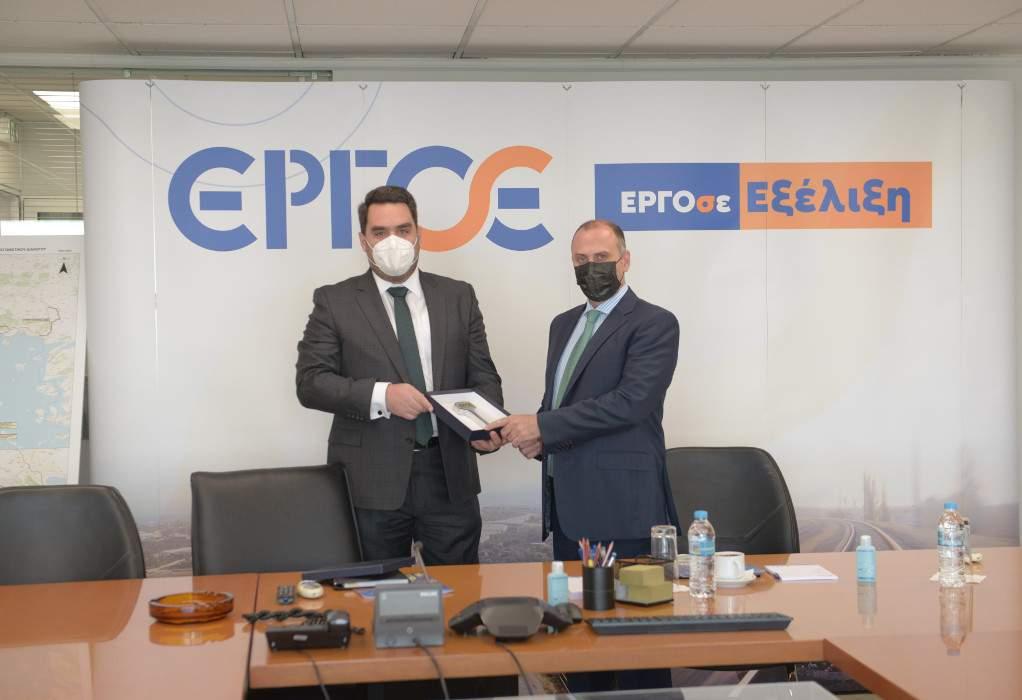 O Γ.Γ. Υποδομών στην ΕΡΓΟΣΕ για τα έργα των 4 δισ. ευρώ