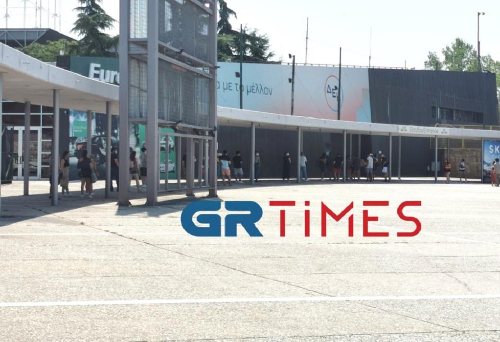 Θεσσαλονίκη: Ουρές για δωρεάν rapid test (ΦΩΤΟ-VIDEO)