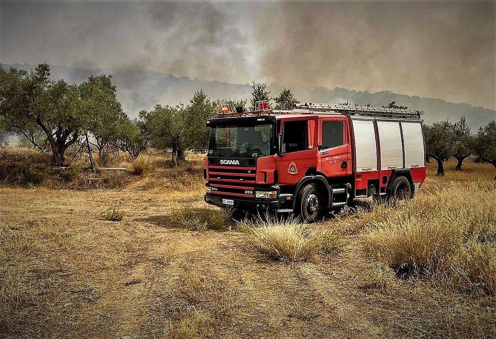 Κάηκε σπίτι στα Μέθανα – Σε ύφεση η πυρκαγιά