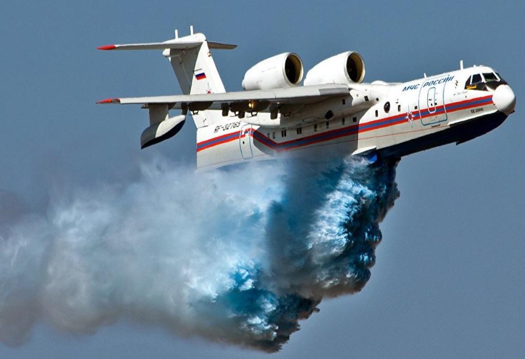 Φωτιά Εύβοια: Εκτός «μάχης» το Beriev λόγω βλάβης