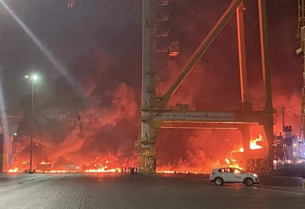ΗΑΕ: Έκρηξη στο λιμάνι του Ντουμπάι (ΦΩΤΟ – VIDEO)
