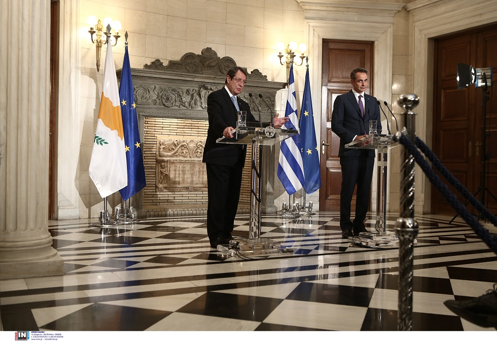 Δηλώσεις πρωθυπουργού μετά τη συνάντηση με τον Ν. Αναστασιάδη