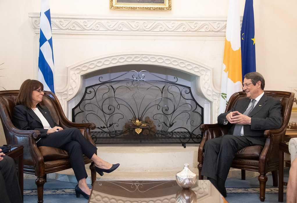 Επικοινωνία Ν. Αναστασιάδη με την ΠτΔ Κ. Σακελλαροπούλου