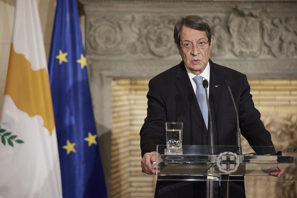 Αναστασιάδης: Θα ενταθούν οι προσπάθειες για την σύγκληση μιας νέας συνόδου για το Κυπριακό