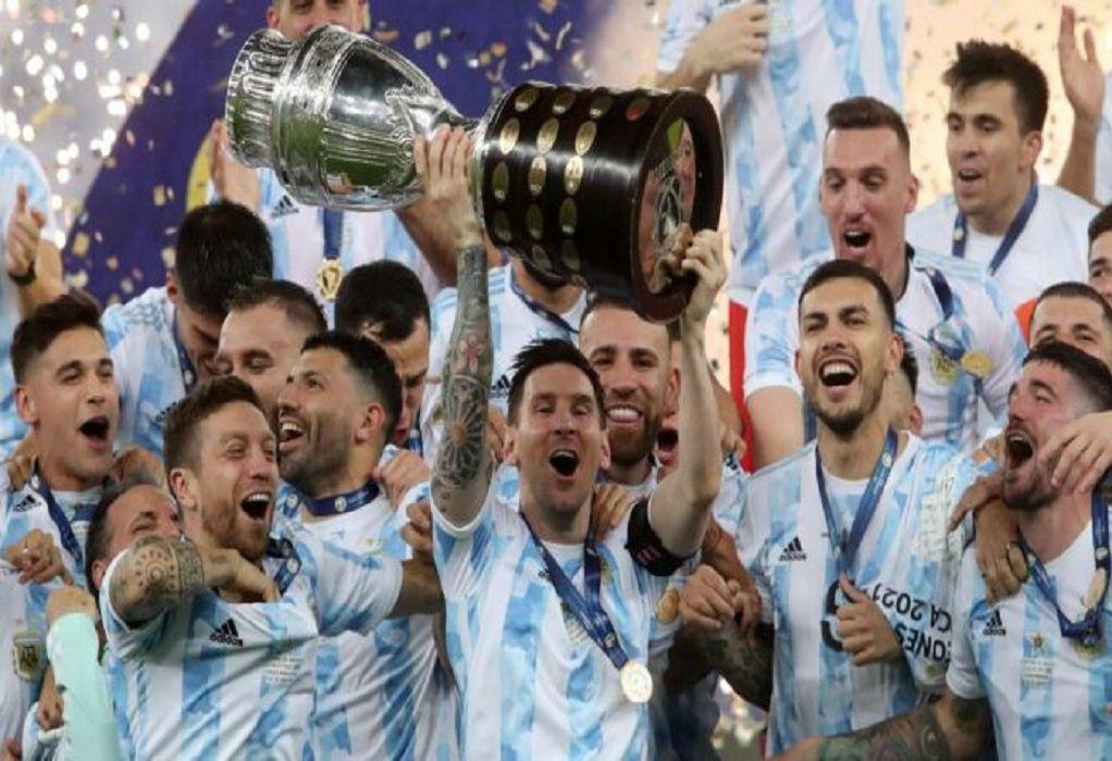 Το σήκωσε η Αργεντινή, επιτέλους τίτλος για Μέσι!