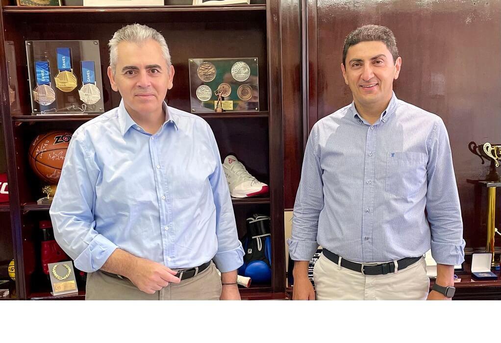"""Χαρακόπουλος σε Αυγενάκη: Να ονομαστεί """"Βασίλης Σπανούλης"""" το κλειστό Νεάπολης"""